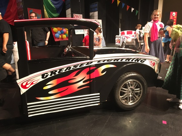 """Grease"" Musical Car Prop"