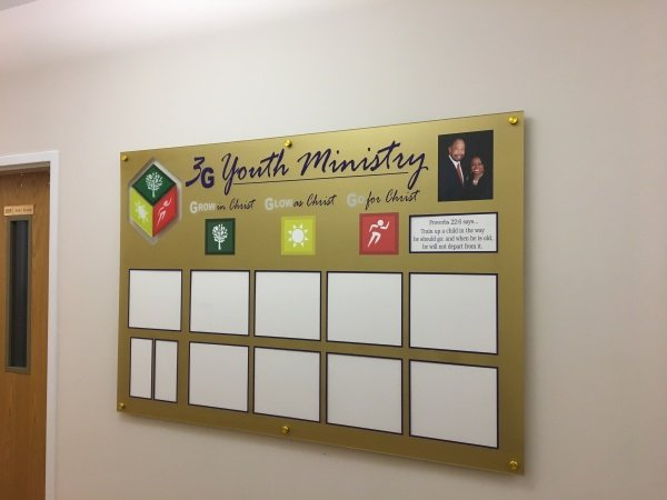 Church Ministry Display Board